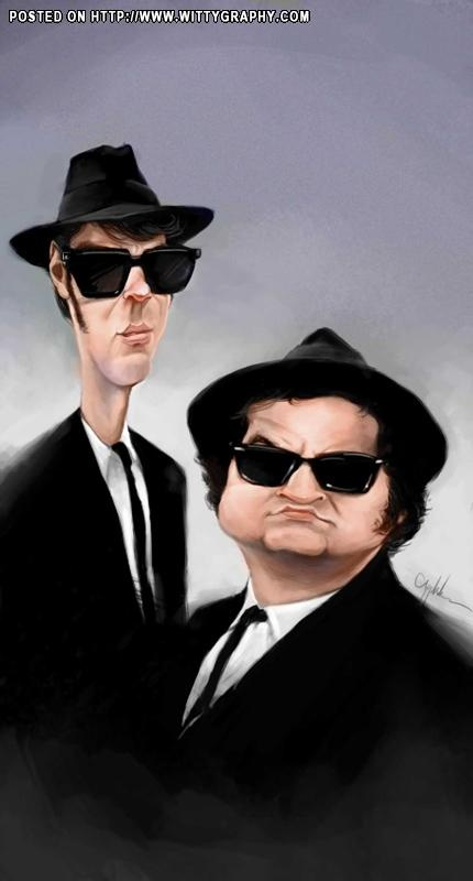 The Blues Brothers (by Will Appledorn) -
