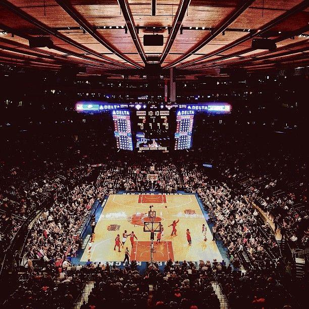 Madison Square Garden in New York, NY