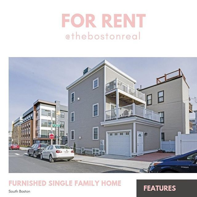 Furnished Spacious Single Family Home For Rent In South Boston Southie Schedule Showings 6179032313 Features 2 C Renting A House Home And Family Home