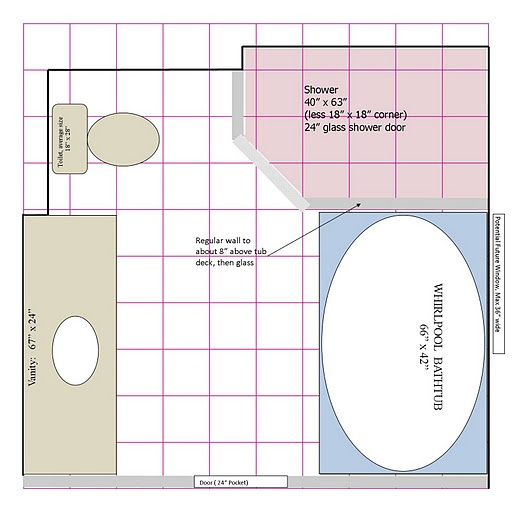 Bathroom Layout For 8X10 123 best upstairs bath images on pinterest | room, bathroom ideas