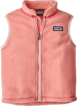 68f464fe97a3 Patagonia Girl s Synchilla Fleece Vest - Toddlers  Peak Pink 12-18 ...