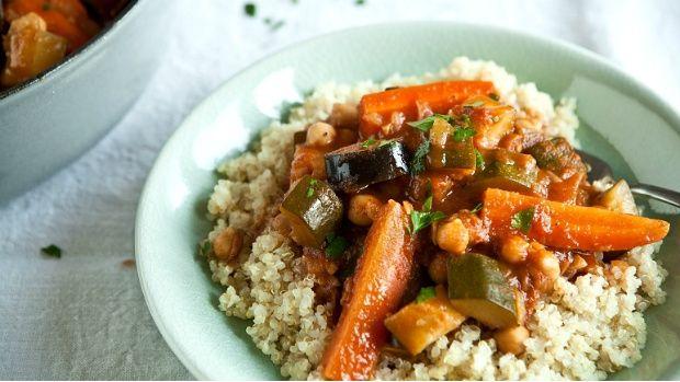 Marocké zeleninové tajine Foto: