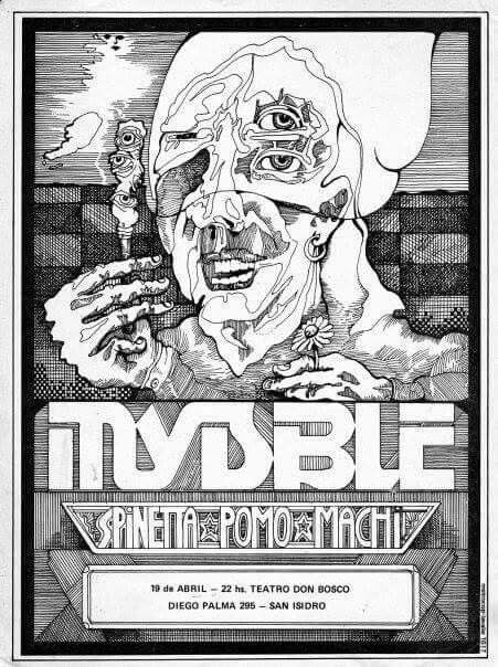 Invisible (Argentina) Póster promocional años 70