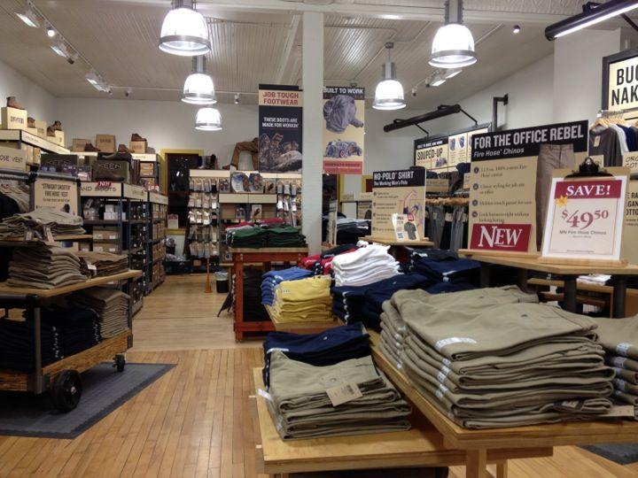 Duluth clothing store
