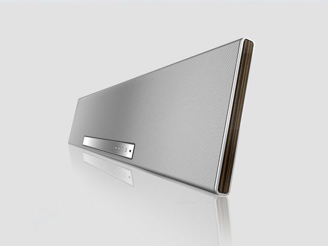 Individual Slim Sound Projector (7.1) czarny/srebrny - Nagłośnienie Loewe - Telewizory LOEWE - HiFI exclusive, Telewizory LOEWE w dobrej cenie