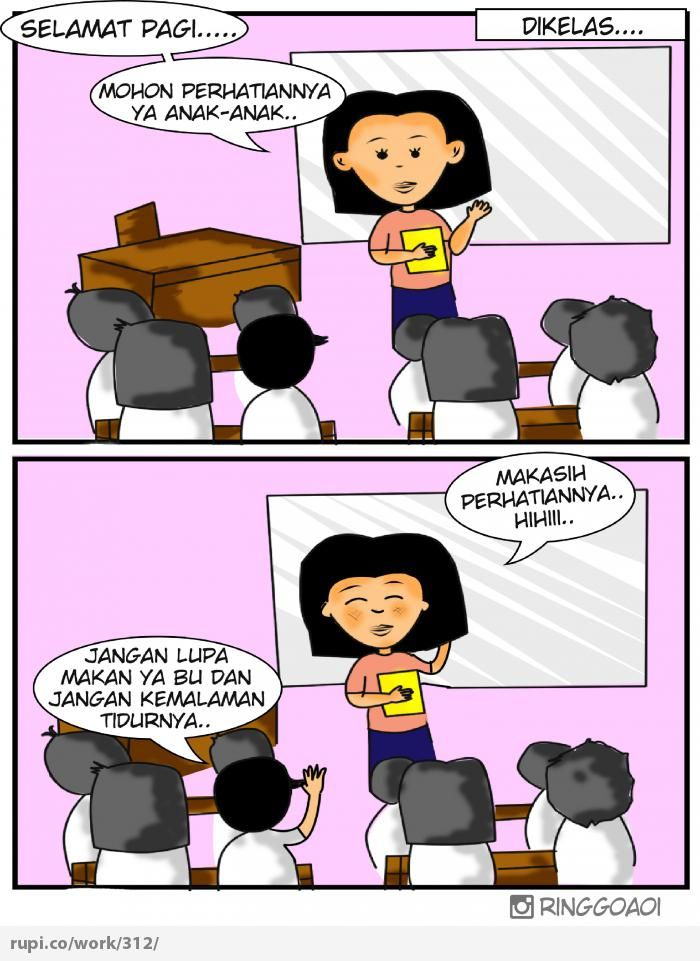 mohon Perhatian.. - Rupi - Social Comic Strip