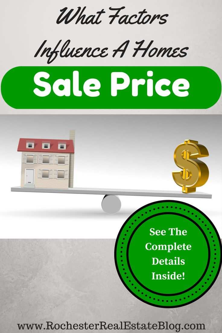 The sale price of a home is impacted by many factors. The majority of factors that influence a homes sale price are controllable. See what they are here! http://www.rochesterrealestateblog.com/what-factors-influence-the-sale-price-of-a-home/ via @KyleHiscockRE #realestate #homeselling #pricing