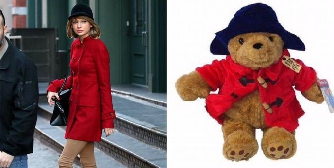 Taylor Swift Can't Stop Dressing Like Paddington Bear And It's Adorable