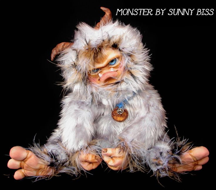 """""""OSCAR"""" Monster by Sunny Biss http://www.sunnybiss.com"""