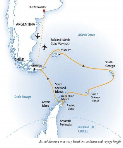 Falklands South Georgia and Antarctica: Explorers and Kings | Quark Expeditions