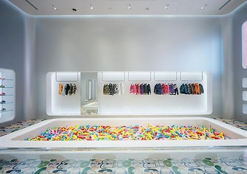 Bape Kids Harajuku Store, interior designed by Masamichi Katayama, Wonderwall Inc.