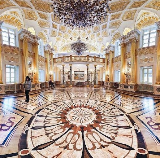 Catherine the Great hall inside the Tsaritsyno Park grand palace, Moscow #russia #frwl #fromrussiawithlove #moscow #msk #spb