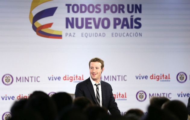 Entrevista: Mark Zuckerberg leva Internet.org à Colômbia +http://brml.co/15243Tv