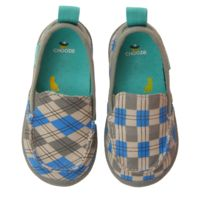 Scout in Clue  CHOOZE Shoes: Our shoes are different. Always. The left shoe is always different from the right. The collection features fun and colorful vegan shoes for toddlers, kids, youth, and women. Sizes range from 4 Toddler to 11 Women's.
