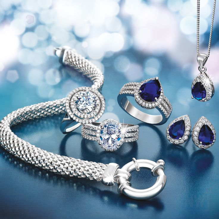 Brand Collection: Silver, Cubic Zirconia and Tanzanite Jewellery By NWJ *Valid until 1st Sept 2013