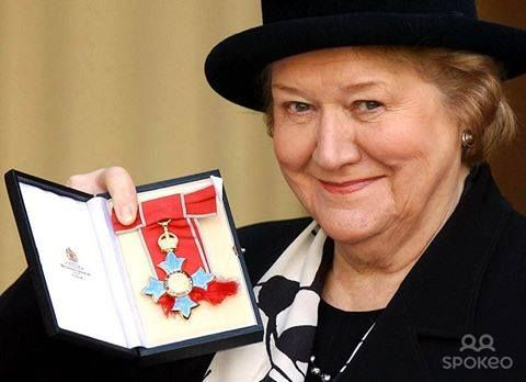 Patricia Routledge was awarded the Officer of the Order of the British Empire (OBE)  in the 1993 Queen's Birthday Honours List for her services to drama. She already held the Commander of the Order of the British Empire (CBE) awarded in 2004 Queen's Birthday Honours list for her services to Drama. Also in 2004 she was presented with an Member of the Order of the British Empire (MBE) by Queen Elizabeth II at Buckingham Palace London.