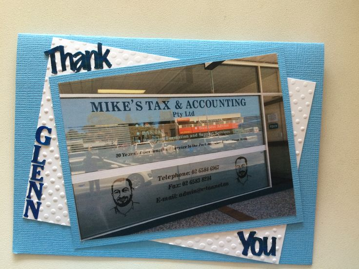 Thank You Mike's Tax Accountant