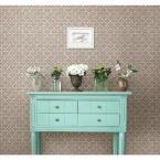 Free Spirit Grey Floral Wallpaper Sample