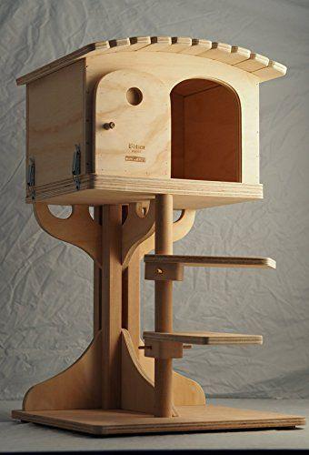 Noticias Blitzen, Robinson L, bellísima caseta y el tronco del árbol para la cama del gato, gato casa, gatos, rascador, 100% Made In Italy