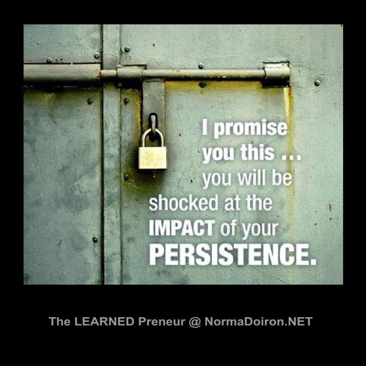 Persistence Quotes For Work