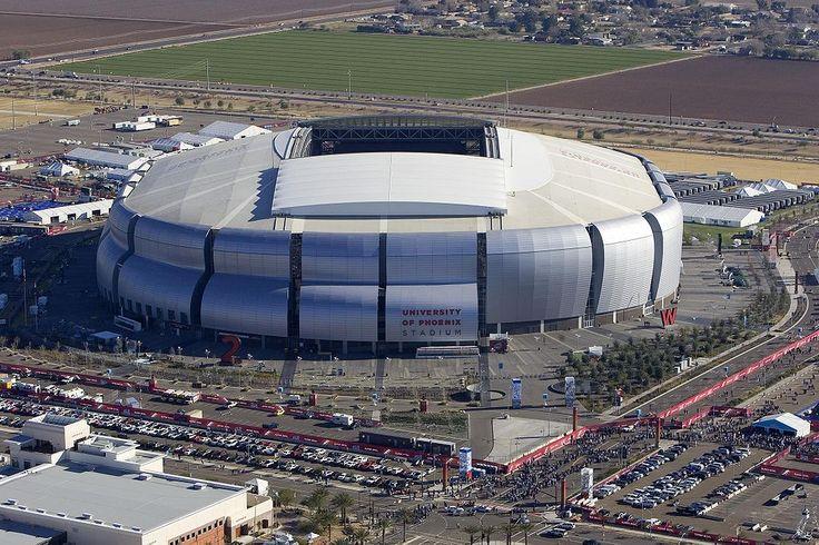 University of Phoenix Stadium in Arizona