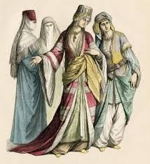 Women clothing were no less, they were just as unique and all women wore very different clothing which defined class.