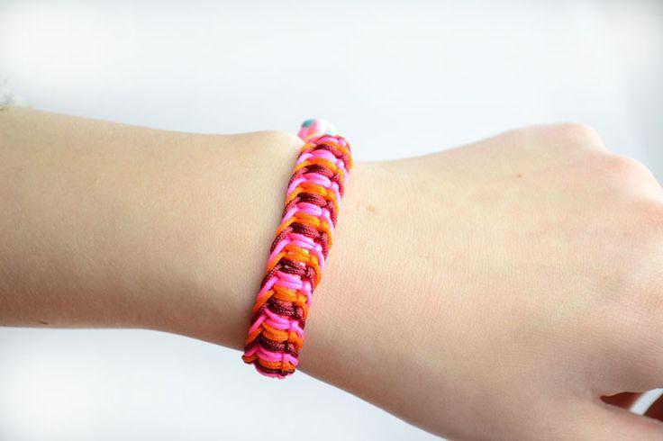 Cómo hacer patrones brazalete de cáñamo: diferentes maneras de hacer las pulseras del cáñamo - Pandahall