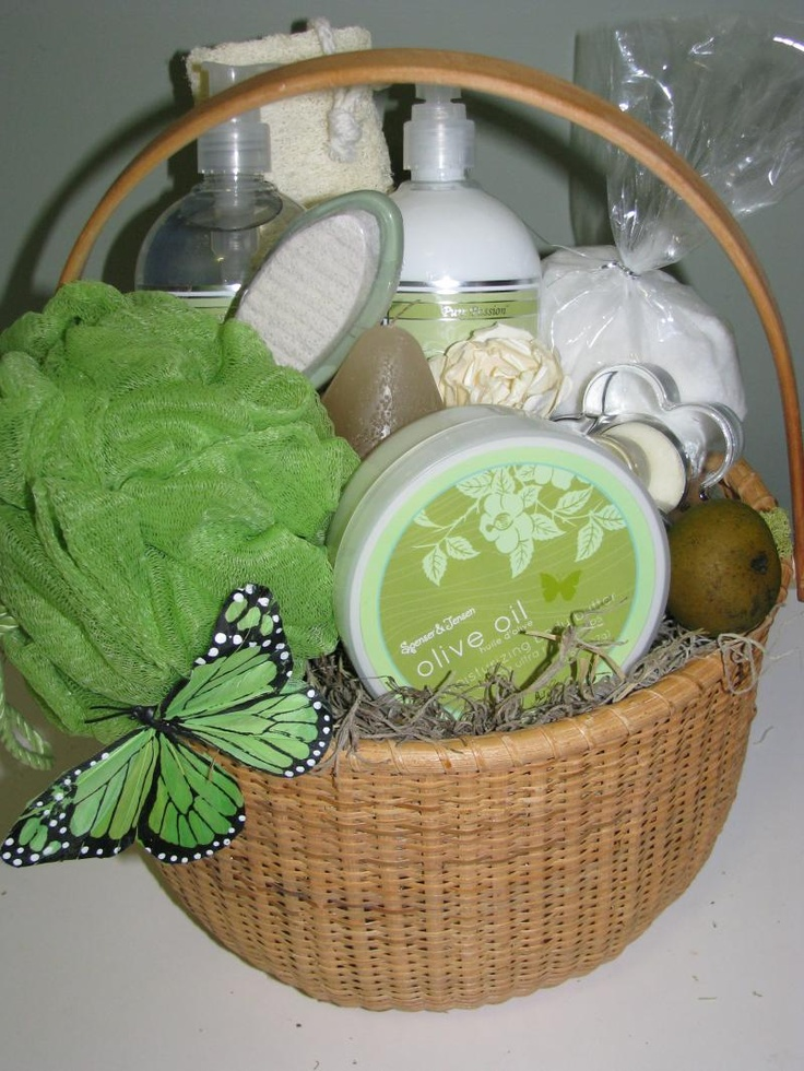 Spa basket for Baby's teachers