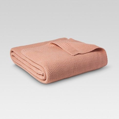 The Sweater Knit Blanket from Threshold™ is a great solution for fall and winter temperatures. The knitted material will help any house feel like home, making it perfect for a guest bedroom or even your own. The blanket comes in a variety of colors, so you're sure to find one that matches your current decor.