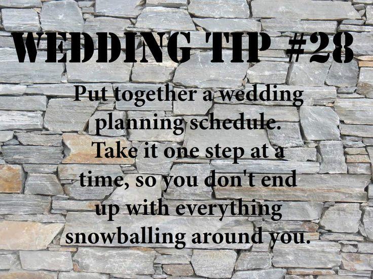 Wedding Tip #28