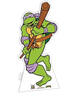 Ninja Turtles Donatello Carboard Cutout - 147cm