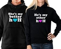 Picture of Couple Sweatshirts for the best halves