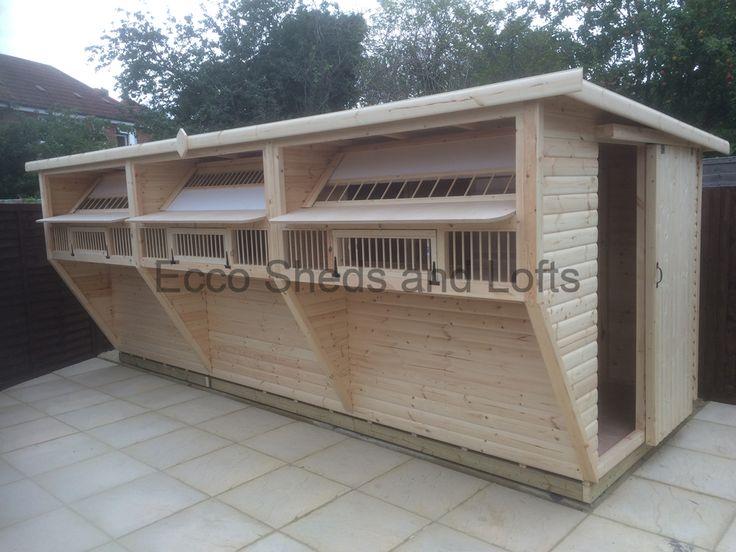 17 best ideas about pigeon loft on pinterest pigeon loft for Pigeon coop ideas