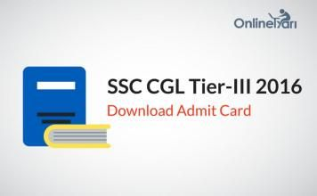 SSC CGL Tier 3 Admit Card 2016: Download Zone-Wise