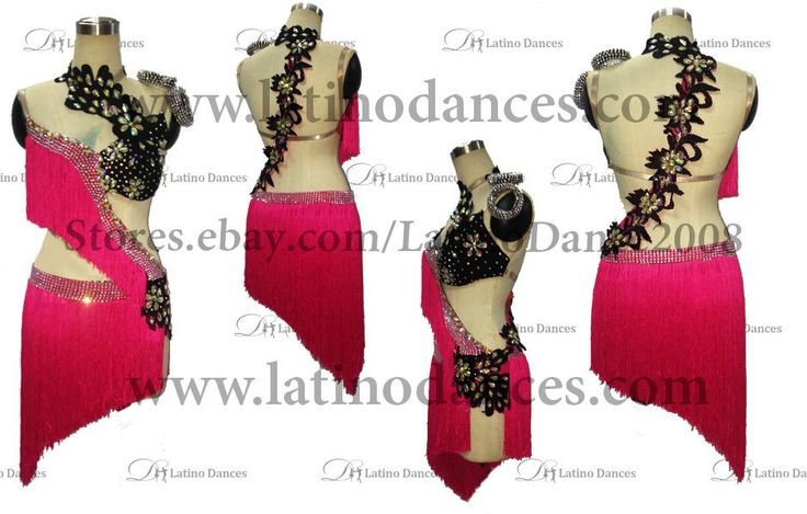 Latino Dance Dress Competition with High Quality Stone M346 | eBay