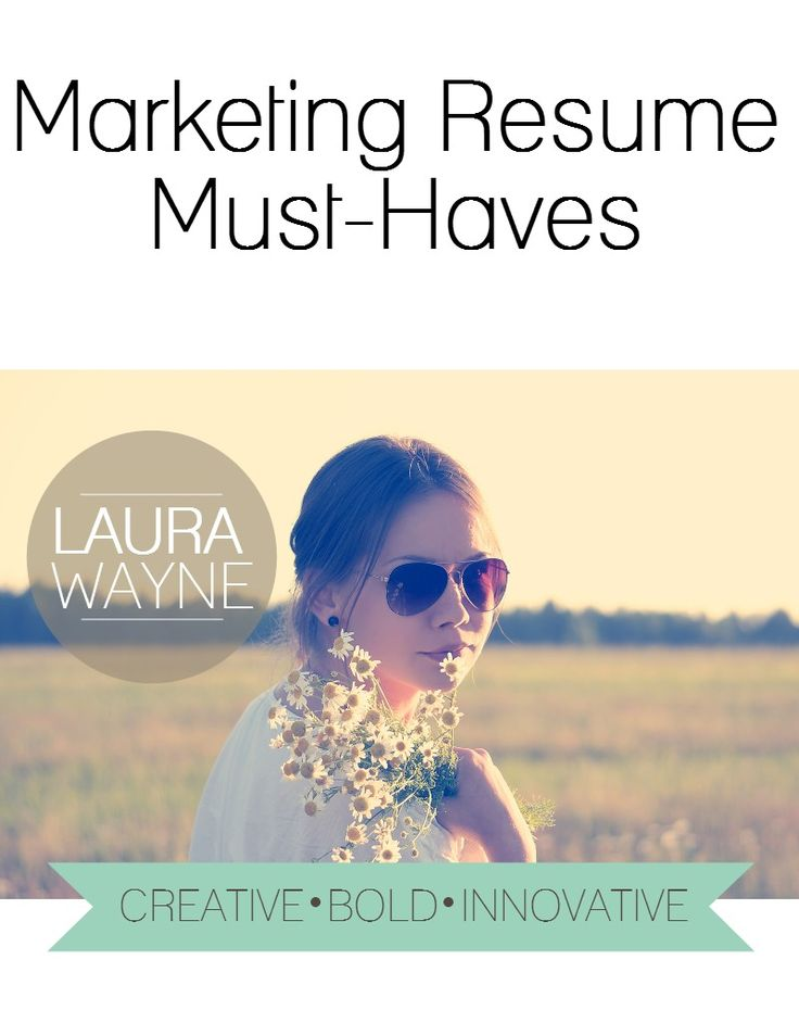 the 25 best marketing resume ideas on