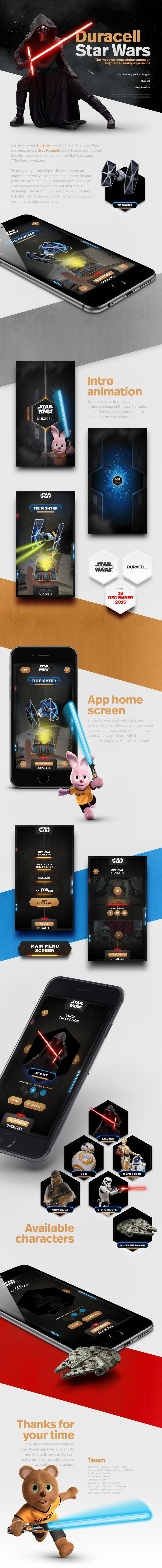 """Duracell x Star Wars –– """"The Force Awakens"""" on Behance"""