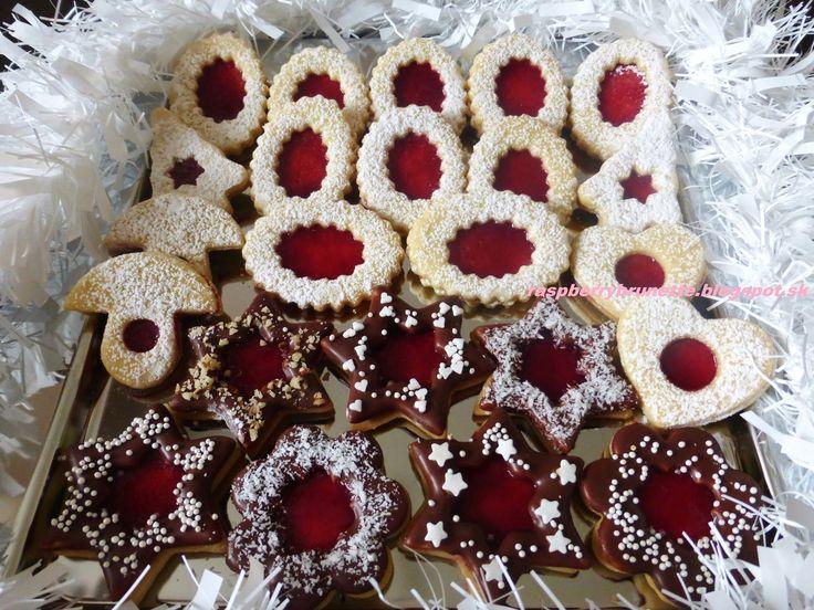 Raspberrybrunette: Linecké pečivo    Skoro každá gazdinka má svoj ods...