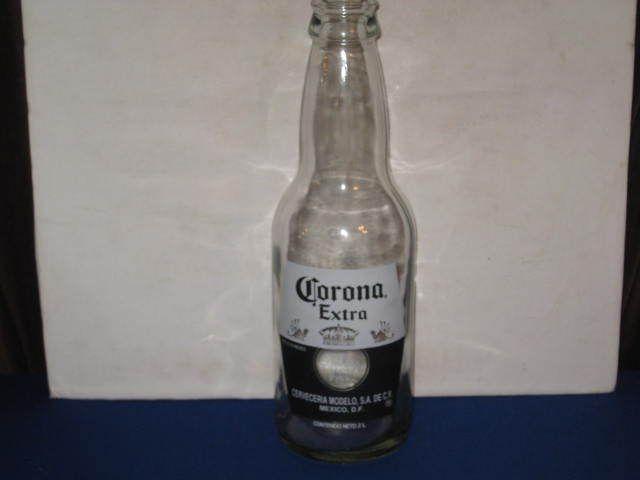 Rare Corona Extra 2 Liter Glass Beer Bottle Hecho En Mexico Cerveceria Modelo 2l