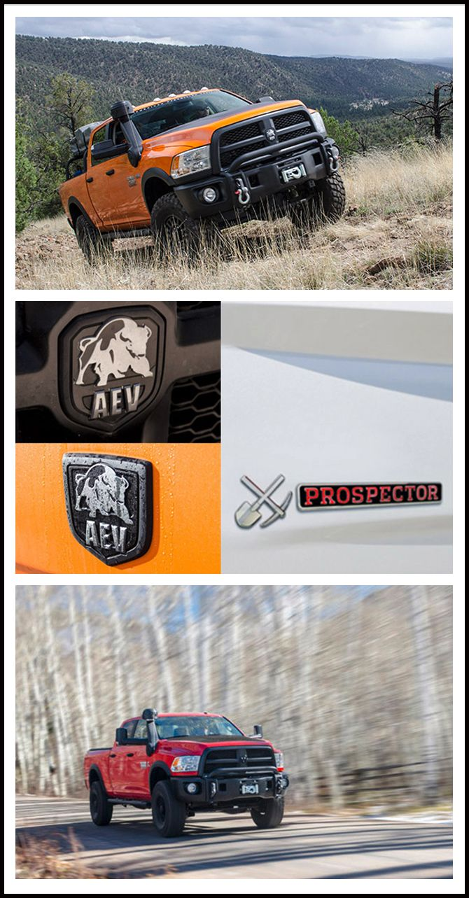 PROSPECTOR ... The AEV RAM Package Is Now Available!  #AEV #Package #Prospector #Custom #Dodge #RAM