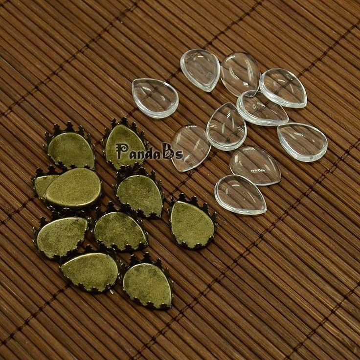 Дешевое 18 x 13 мм ясно перевозка груза падения увеличительное стекло кабошон обложка для DIY латунь фото кабошон для изготовления драгоценностей, никель бесплатно, античная бронза, Купить Качество Фурнитура для ювелирных изделий непосредственно из китайских фирмах-поставщиках:    18x13 мм прозрачная капля увеличительное стекло кабошон для DIY латунь фото кабошон решений, никеля, античная бронза