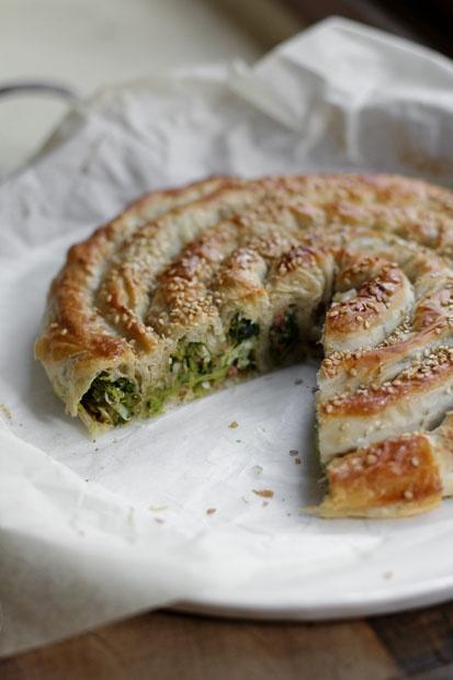 Torta salata di ispirazione balcanica