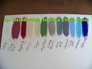 A Pretty Talent Blog: An introduction to Dala Chalk Paint