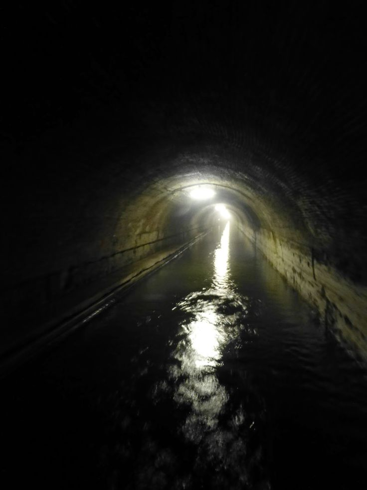 Riqueval Tunnel, St Quentin Canal, France
