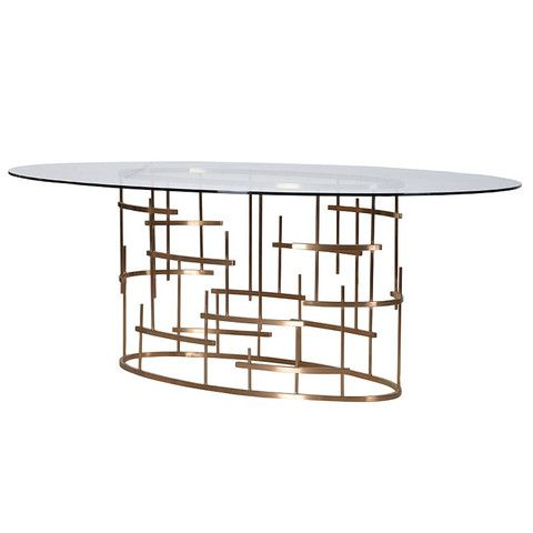 78 Best Ideas About Oval Dining Tables On Pinterest Oval Table Modern Dining Table And