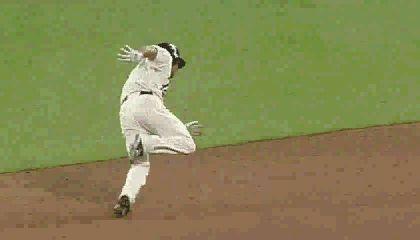 ben revere baserunning fail - baseball fail gifs
