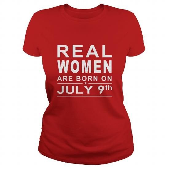 I Love 0709 July 9 Birthday Real Women Born Shirts TShirt Ladies Tee Hoodie Shirt VNeck Shirt Sweat Shirt Youth Tee for Girl and Men and Family T-Shirts