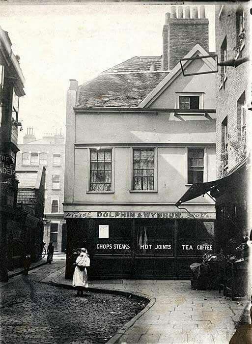 Bartholomew Close Smithfield 1898