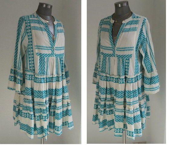 Ethno Kleid Mit Ikat Muster Lieblingsstuck Com