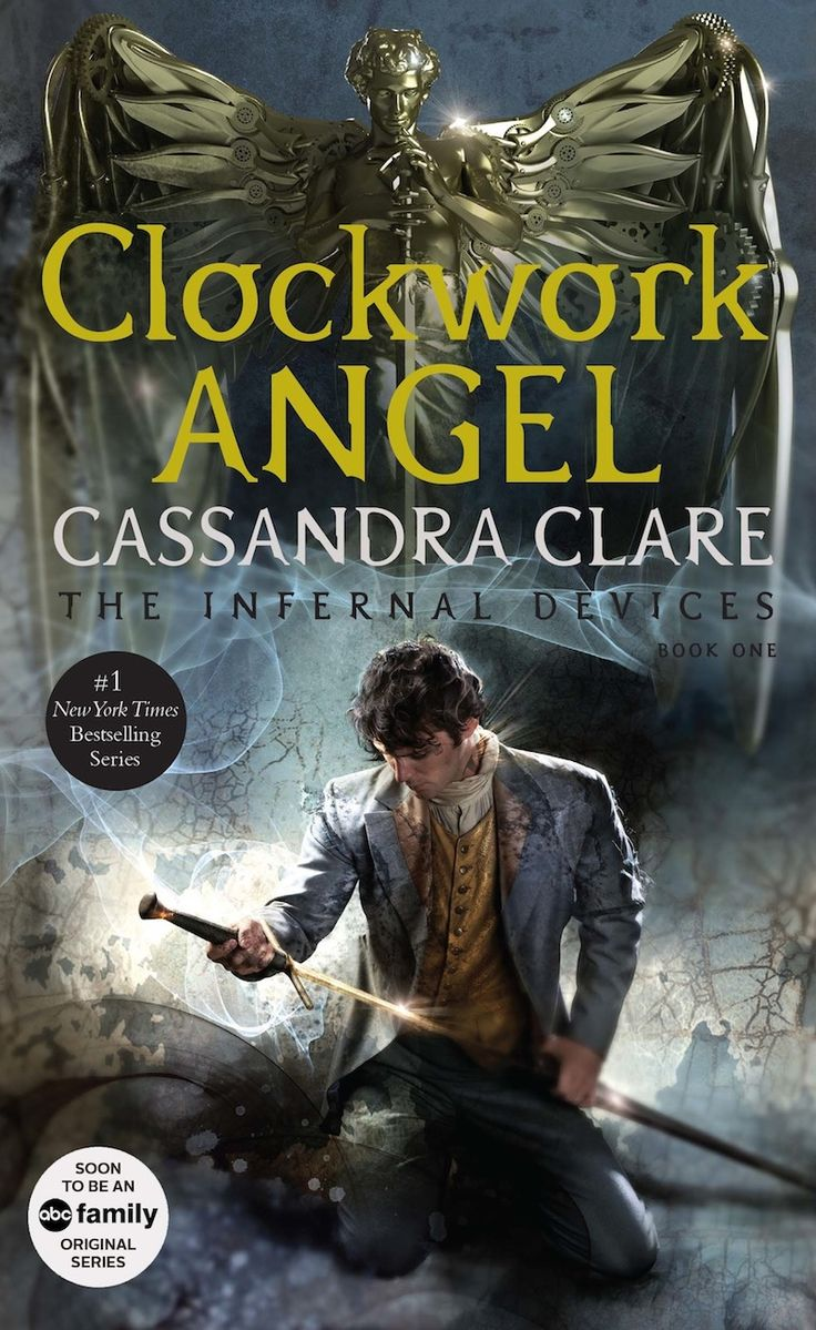 New Clockwork Angel Cover Featuring Will Herondale